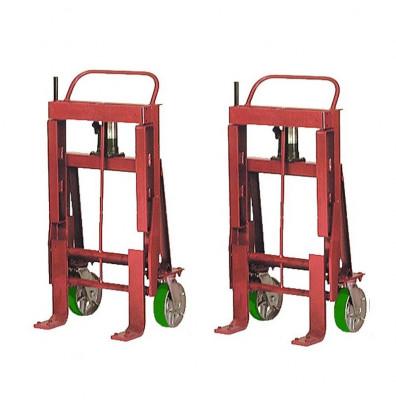 Wesco RNR-64P Rais-N-Rol 6000 lb Load Machinery Movers, Urethane Wheels
