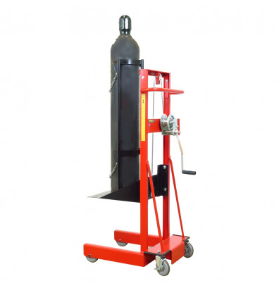 Wesco LLWPB 300 lb Load Cylinder Manual Hand Winch Lift Truck