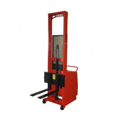 "Wesco PCBFL-76-25 Counterbalance 76"" Lift Powered Lift Electric Fork Stacker"