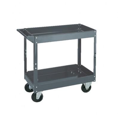 """Wesco SC-1630 500 lb Load 16"""" x 30"""" Steel Service Cart"""