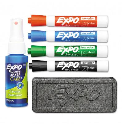Expo Low-Odor Dry Erase Marker Starter Set