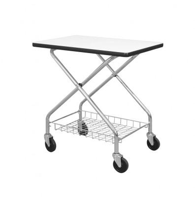 "Wesco Foldaway Table Top 200 lb Load 28"" x 19"" Office Cart 272233"