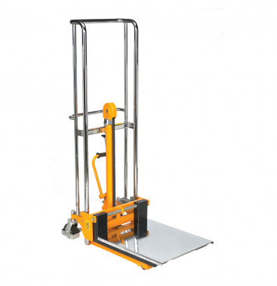 """Wesco VL59 Value Lift 59"""" Lift Manual Hydraulic Fork Stacker (Platform Not Included)"""