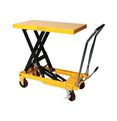 """Wesco LT-1650-SL 1650 lb Load 20"""" x 39"""" Scissors Lift Table"""
