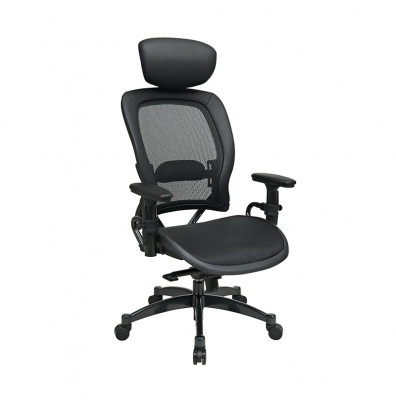 Office Star Professional Synchro-Tilt Mesh High-Back Managers Chair
