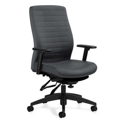 Global Aspen 2851-3 Multi-Tilter Fabric High-Back Ergonomic Task Chair