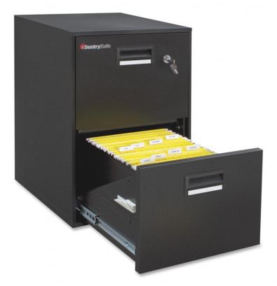 Sentrysafe 2 Drawer 21 Deep 1 Hour Rated Fireproof File Cabinet
