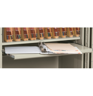 "FireKing Pull Out Tray Writing Shelf for 36"" W Storage Cabinet"