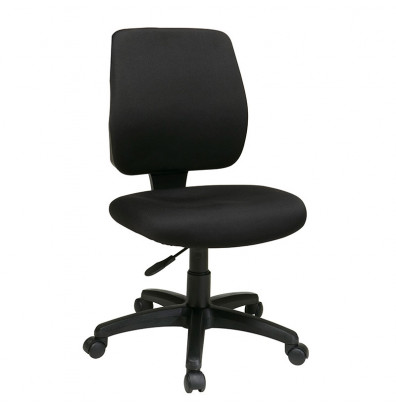 Office Star Deluxe Ratchet-Back Fabric Mid-Back Task Chair