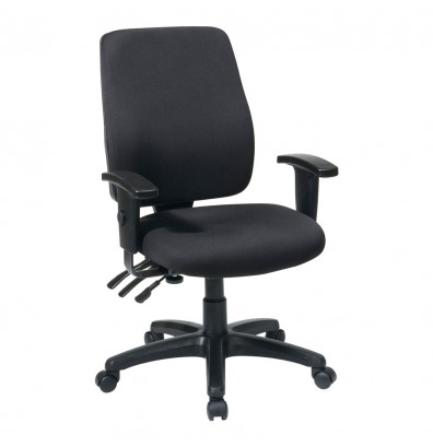 Office Star Dual Function Fabric High-Back Ergonomic Task Chair (Model 33347-30)