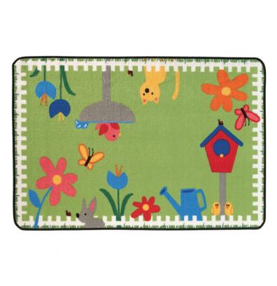 Carpets for Kids Garden Time Rectangle Classroom Rug
