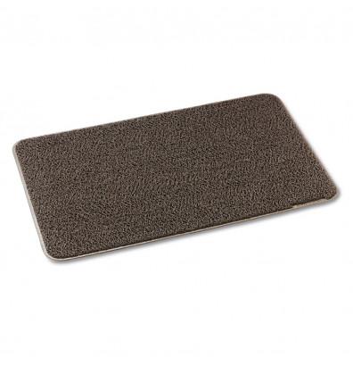 3M Dirt Stop 3' x 5' Vinyl Back Scraper Floor Mat, Chestnut Brown