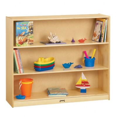 Jonti-Craft Mega Straight-Shelf Mobile Classroom Storage Unit