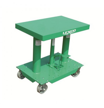 "Lexco HT-3338-2F 30-48"" Height 2000 lb Load 30"" x 30"" Hydraulic Lift Table"