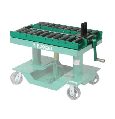 """Lexco 1106 Manual Push-Pull Die Handling Conveyor 30"""" x 30"""""""