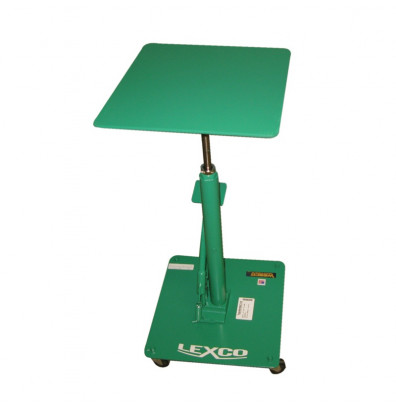 """Lexco HT-203-FR 24-40"""" Height 200 lb Load 16"""" x 16"""" Hydraulic Lift Table"""