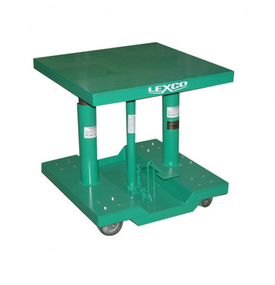 """Lexco HT-2388-05-FR 28-46"""" Height 500 lb Load 20"""" x 30"""" Hydraulic Lift Table"""