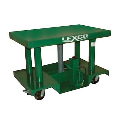 "HT-3045-18 5,000 lbs Capacity 48"" x 30"" Lexco Hydraulic Lift Table (Lift Equipment)"
