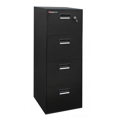 SentrySafe 4B2100 Fireproof File Cabinet (Shown in Black)