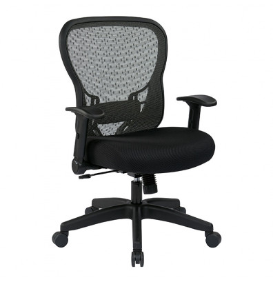 Office Star Deluxe R2 SpaceGrid Mesh Mid-Back Office Chair