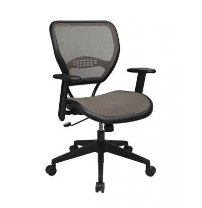 Office Star Deluxe AirGrid Mesh Mid Back Task Chair (Model 55 88N15)