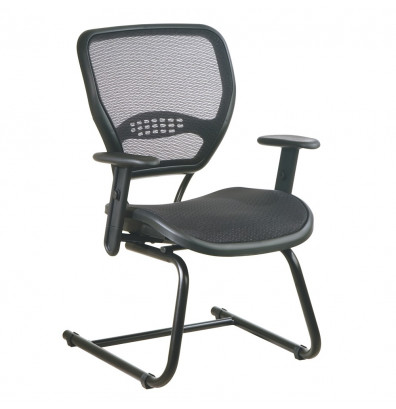 Office Star Space Seating AirGrid Mesh Mid-Back Guest Chair