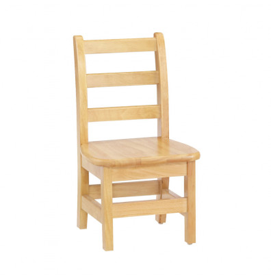 "Jonti-Craft KYDZ 16"" Seat Height Ladderback School Chair"