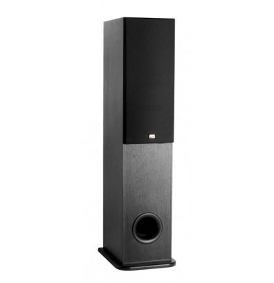"MTX Audio Monitor600i Dual 6.5"" 2-Way Tower Speaker. Shown with grill on"