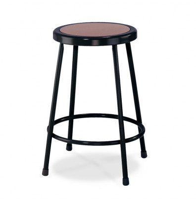 "NPS 24"" Science Lab Stool (Shown in Black)"