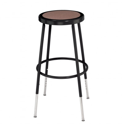 "NPS 25"" - 33"" Height Adjustable Science Lab Stool (Shown in Black)"