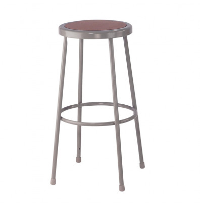 "NPS 30"" H Round Science Lab Stool, 6230"