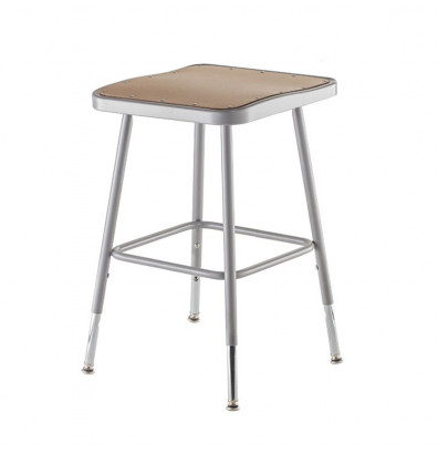 Nps 19 Quot 27 Quot Height Adjustable Square Science Lab Stool