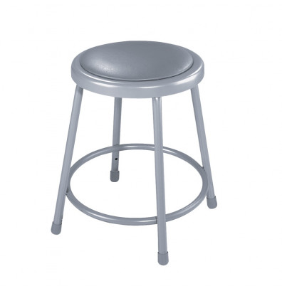 """NPS 18"""" H Padded Round Science Lab Stool"""