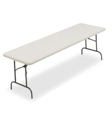 """Iceberg IndestrucTable Too 30"""" x 96"""" Heavy Duty Folding Table (Shown in Platinum)"""