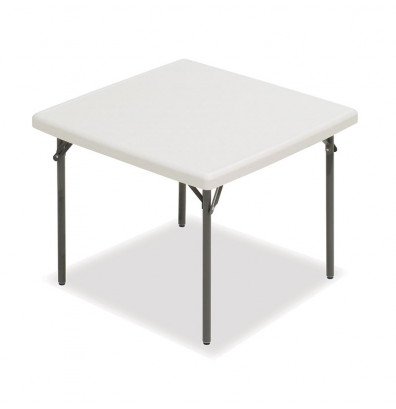 "Iceberg IndestrucTable Too 37"" Square Folding Table"