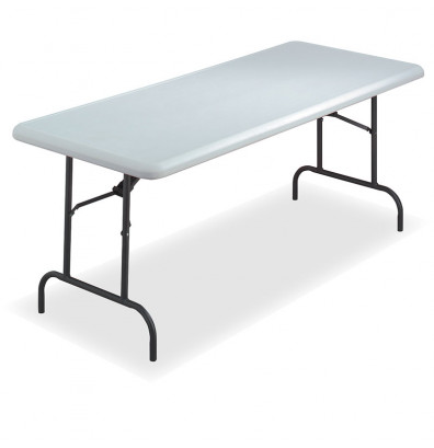 "Iceberg IndestrucTable Too 30"" x 72"" Light Duty Folding Table"