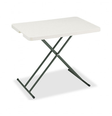 "Iceberg IndestrucTable Too 30"" x 20"" Personal Folding Table"