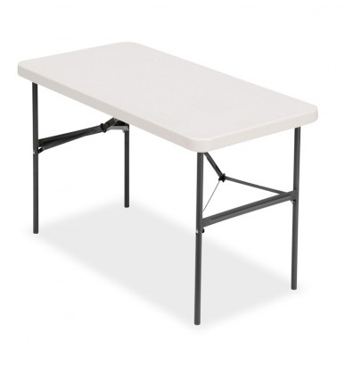 """Iceberg IndestrucTable Too 48"""" W x 24"""" D Folding Banquet Table"""
