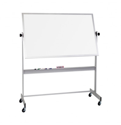 Best-Rite 668AH-DD Deluxe Porcelain Steel 8 ft. x 4 ft. Reversible Board