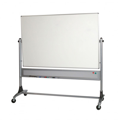 Best-Rite 669RG-HH Dura-Rite 6 ft. x 4 ft. Aluminum Trim Reversible Board - Accessories not included.
