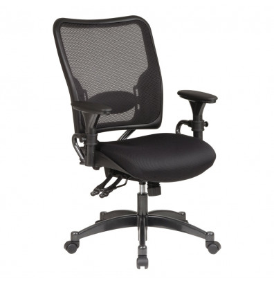 Office Star Professional Dual Function AirGrid Mesh Mid-Back Task Chair (Model 6806)