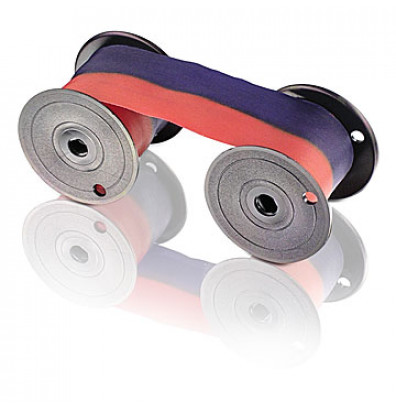Lathem (2 color, red & blue) Replacement ribbon for 1200, 2000, 4000, 8000 series