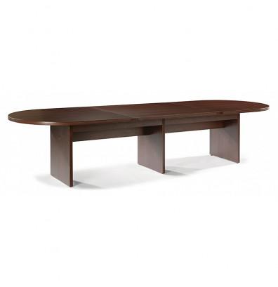 DMI Furniture Fairplex Ft Racetrack Expandable Conference Table - 14 ft conference table