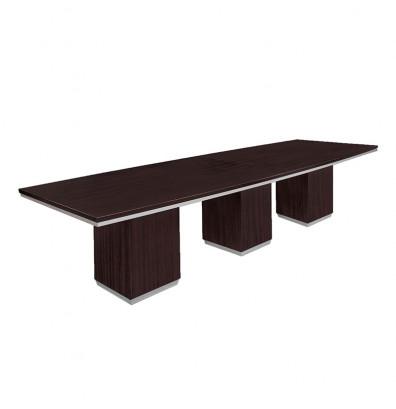 DMI Furniture Pimlico Ft BoatShaped Conference Table - 12 foot boat shaped conference table