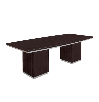 DMI Furniture Pimlico Ft BoatShaped Conference Table - 7 ft conference table