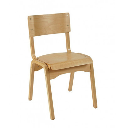 KFI Seating AD1100 Wood Stacking Chair