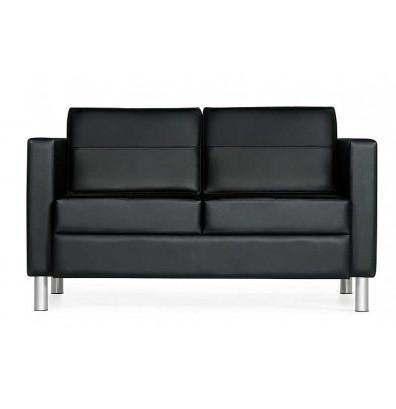 Global Citi 7876 Faux Leather Love Seat Sofa