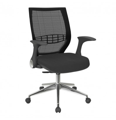 Office Star ProGrid Mesh Mid-Back Managers Chair (Model 80885AL-3)
