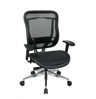 Office Star Big & Tall 300 lb. Mesh Mid-Back Executive Chair