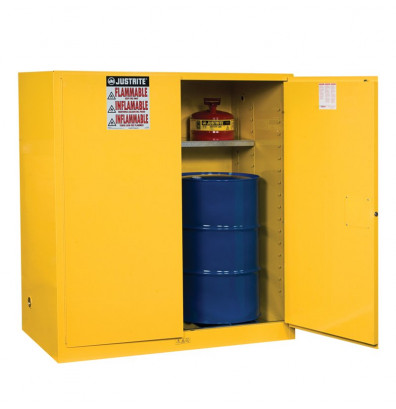 Justrite Sure Grip Ex 110 Gal Fire Resistant Drum Storage